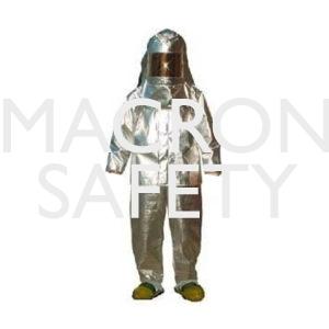Heat Reflective Aluminized Rayon Suit