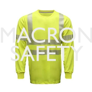 8 cal Dual Action Long Sleeve T-Shirt with Class 2 Stripping