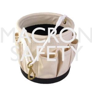 "Blackwrap Tool Bucket 14 Outside Pockets, w/Snap 12"" x 12"""