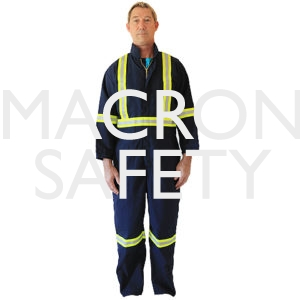 10 Pocket Hi-Visibility Flame Resistant Coverall