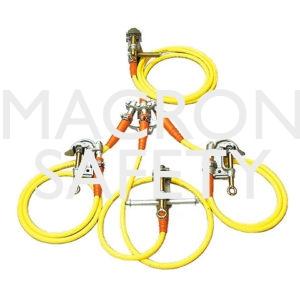 Salisbury 4-Way Electrical Grounding Set