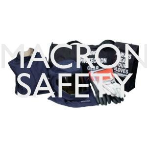 Chicago Protective 32 cal Arc Flash Jacket & Bib Overal Kit