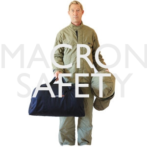 40 cal/cm2 Arc Flash Jacket and Bib Overall Clothing Kit