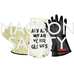 "Salisbury Class 0 11"" Black Gloves"