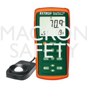 Extech EA33: EasyView™ Light Meter with Memory
