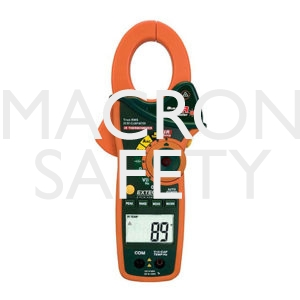Extech EX840: 1000A AC/DC True RMS Clamp/DMM + IR Thermometer