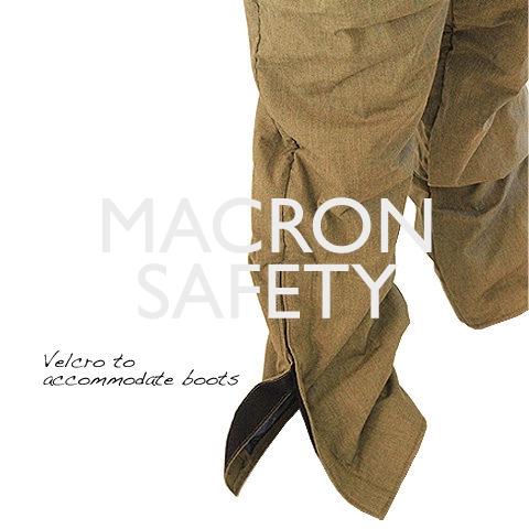 Full length calf velcro cuffs