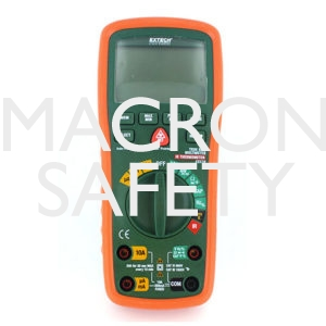 Extech EX570: 12 Function True RMS Industrial MultiMeter with IR Thermometer