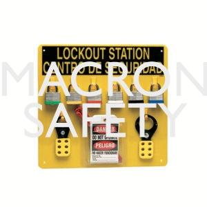 Brady LC211G Prinzing 6 Lockout Center Bilingual