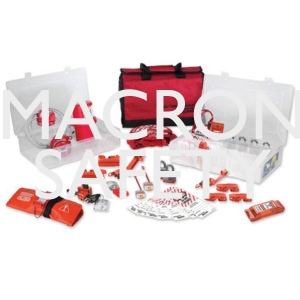 Master Lock Group Lockout Kit - Valve and Electrical 1458VE3